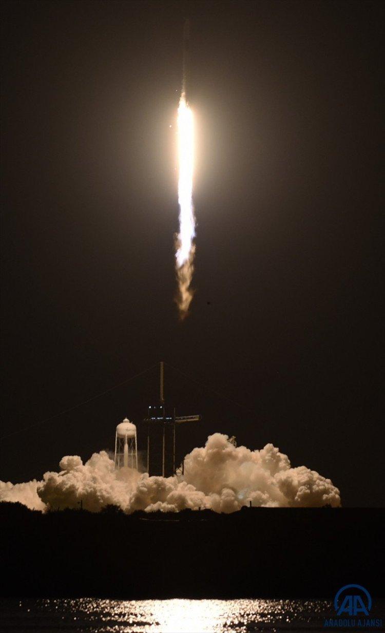 SpacX roketi, başarılı bir şekilde fırlatıldı #5