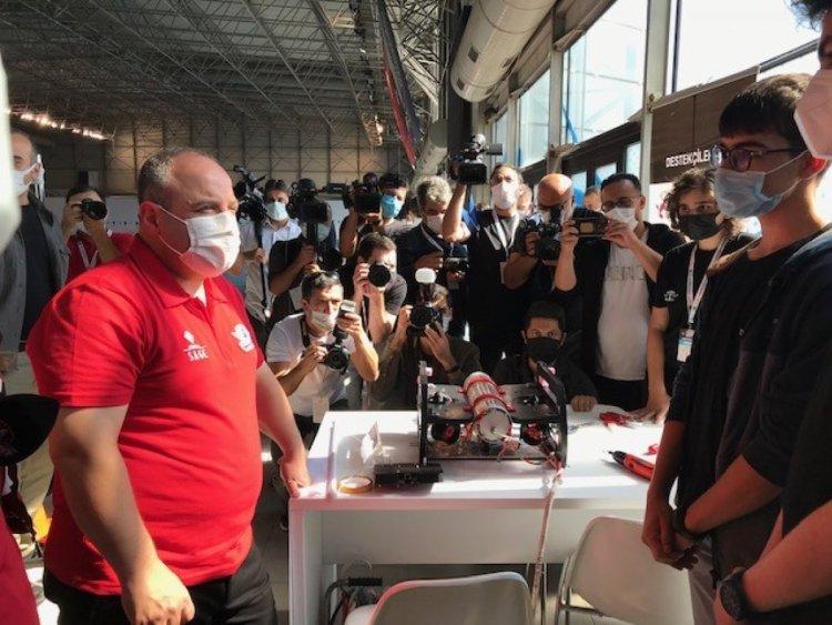 Mustafa Varank, İnsansız Su Altı Sistemleri Yarışması nı ziyaret etti  #3