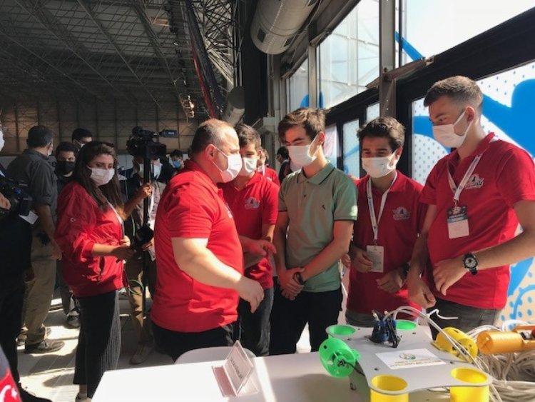 Mustafa Varank, İnsansız Su Altı Sistemleri Yarışması nı ziyaret etti  #5