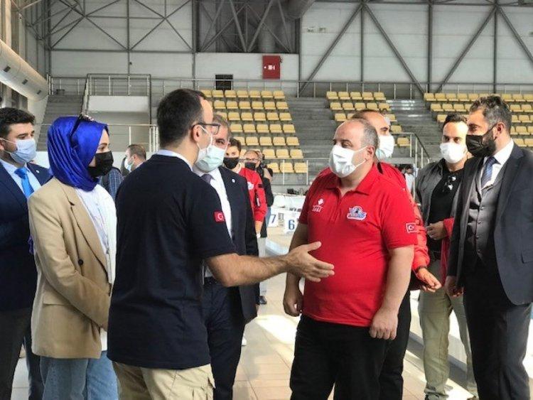 Mustafa Varank, İnsansız Su Altı Sistemleri Yarışması nı ziyaret etti  #2