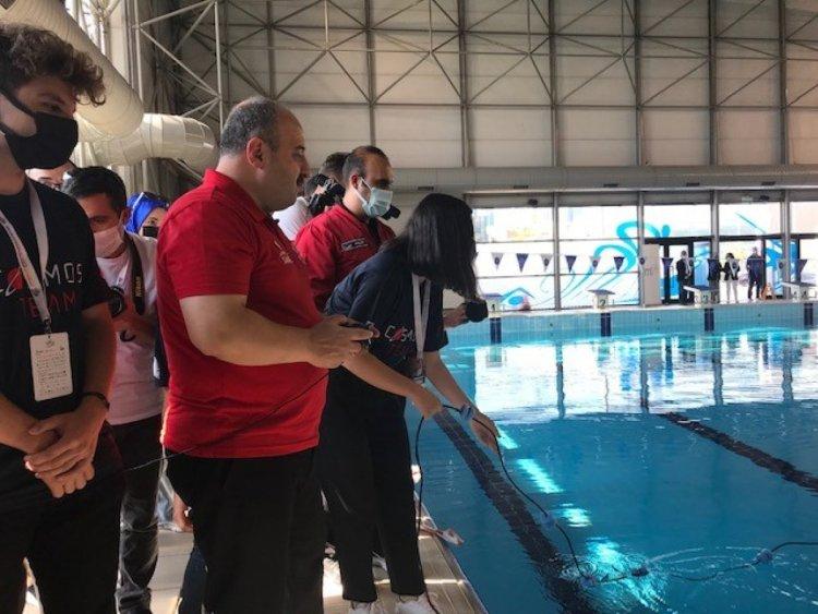 Mustafa Varank, İnsansız Su Altı Sistemleri Yarışması nı ziyaret etti  #6