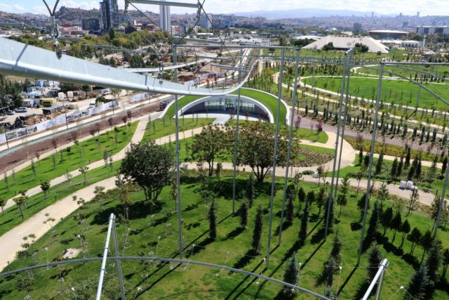 Ankara da Atatürk Kültür Merkezi Millet Bahçesi, 28 Ekim'de açılacak  #5