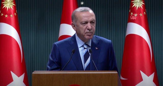 Cumhurbaşkanı Erdoğan dan önemli açıklamalar  #1