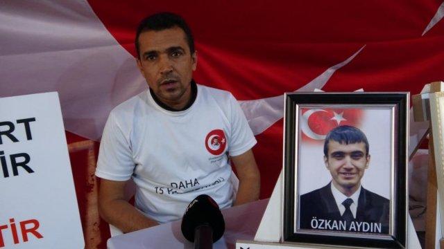 Diyarbakır da evlat nöbeti tutan baba: Dünya sesimizi duydu HDP duymadı #4