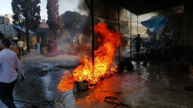 Cerablus ta eş zamanlı bombalı saldırı: 1 ölü 15 yaralı #11