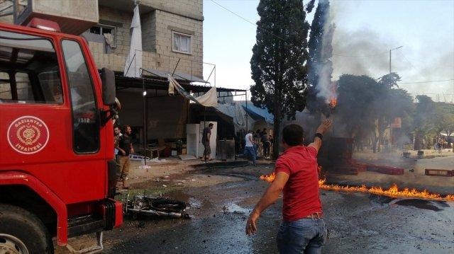 Cerablus ta eş zamanlı bombalı saldırı: 1 ölü 15 yaralı #12