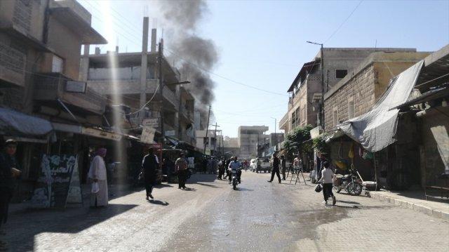 Cerablus ta eş zamanlı bombalı saldırı: 1 ölü 15 yaralı #4