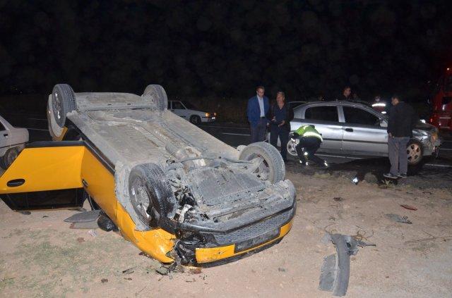 Kahramanmaraş'ta 4 aracın karıştığı kazada 6 kişi yaralandı #1