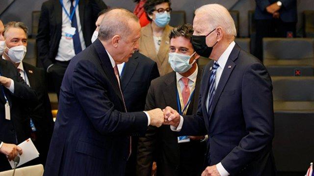 Cumhurbaşkanı Erdoğan, Joe Biden ile görüşecek #1