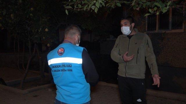 Kırıkkale de pozitifli genç çöp atmaya çıkınca 4 bin 50 lira ceza yedi #1