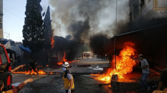 Cerablus ta eş zamanlı bombalı saldırı: 1 ölü 15 yaralı #8