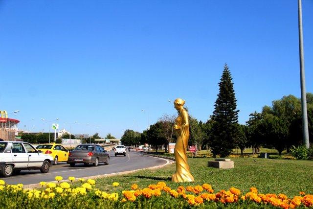 Antalya daki Altın Portakal Film Festivali için 58 heykel dikildi #1