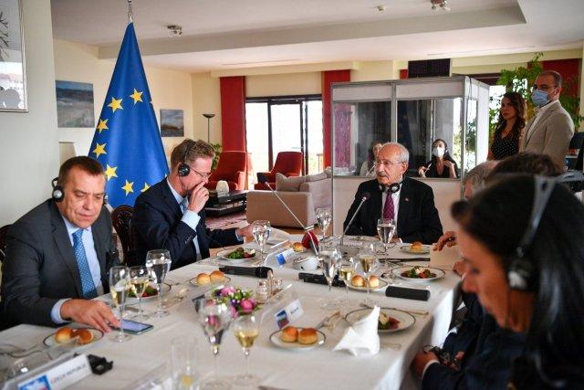 Kemal Kılıçdaroğlu, büyükelçilerle yemekte buluştu  #2