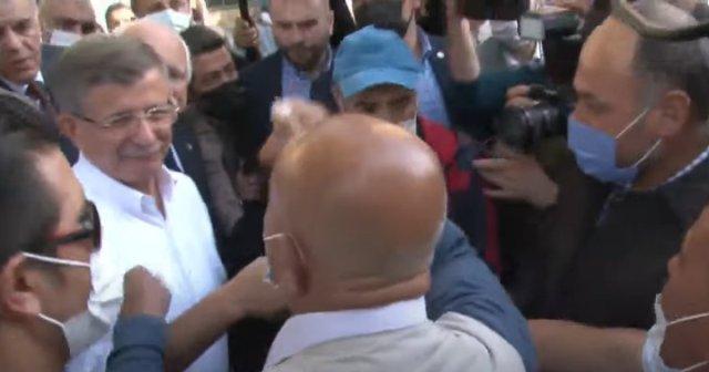 Ahmet Davutoğlu na Kayseri de  ihanet  tepkisi #1