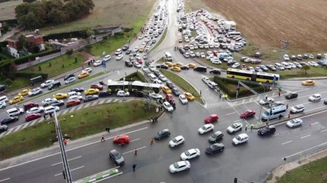 İstanbul daki Formula 1 organizasyonu trafik yoğunluğuna neden oldu #3