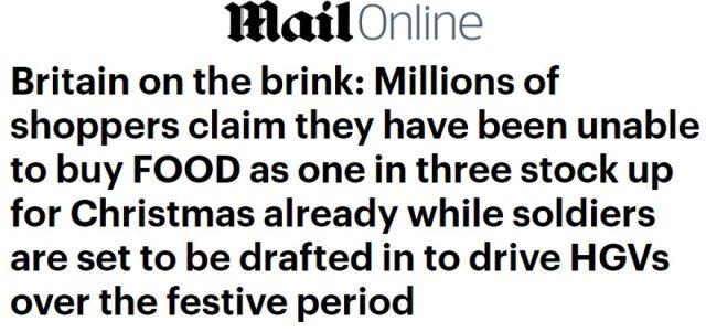 İngiliz halkı, temel gıdaları satın almakta zorluk yaşıyor #3