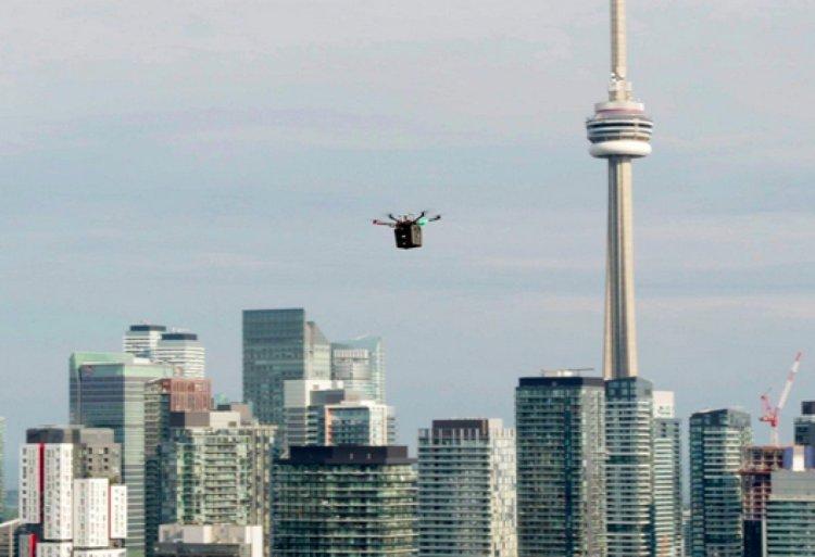 Kanada da hastaya nakledilecek akciğer ilk kez drone ile taşındı #3