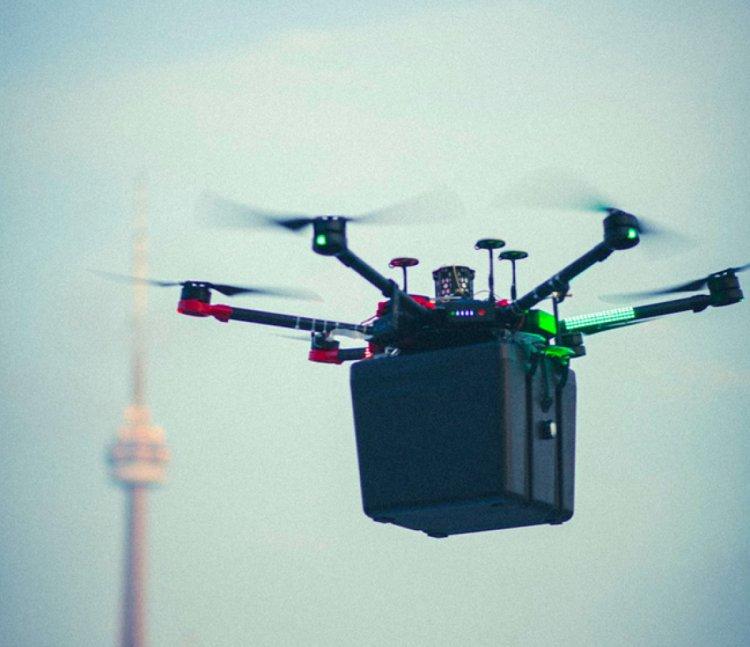 Kanada da hastaya nakledilecek akciğer ilk kez drone ile taşındı #4