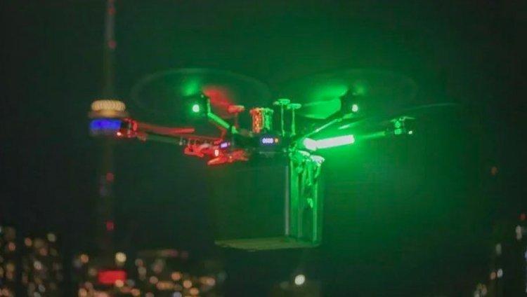 Kanada da hastaya nakledilecek akciğer ilk kez drone ile taşındı #5