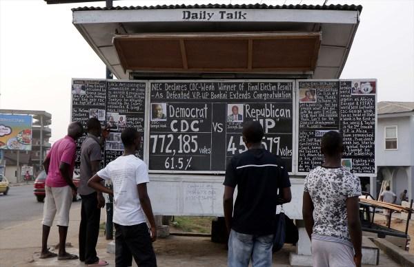 Liberyalılar haberleri 17 yıldır kara tahtadan öğreniyor