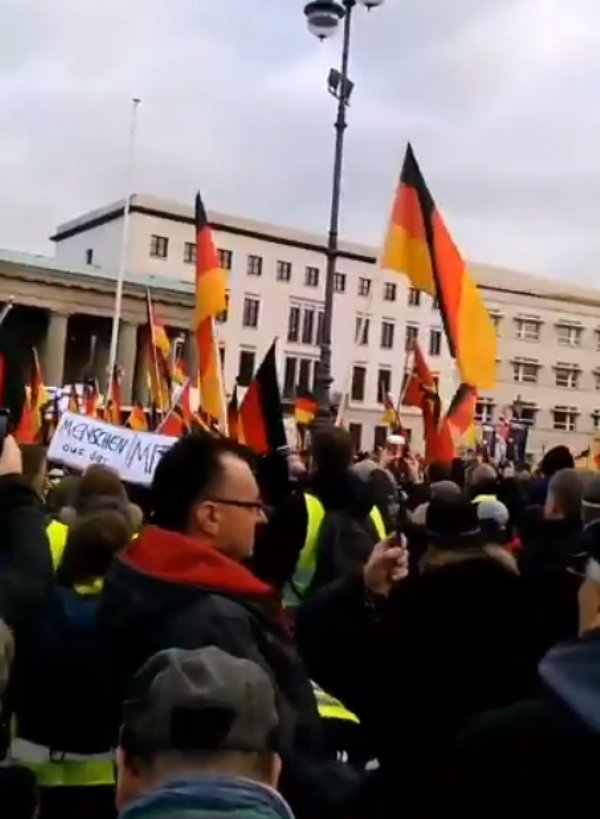 Sarı Yelekliler eylemi Berlin'de