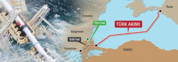 Türk Akımı'nın güzergahı değişti