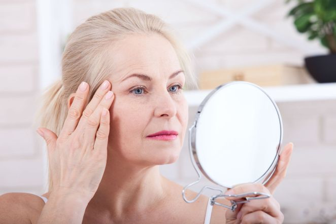Collagen reduces skin dryness and wrinkles #1