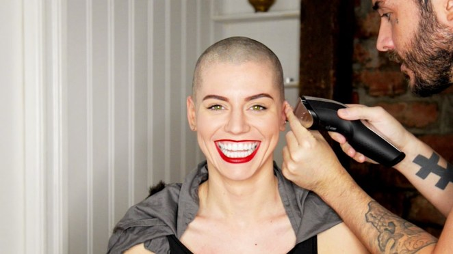 5 reasons why women shave their hair #1