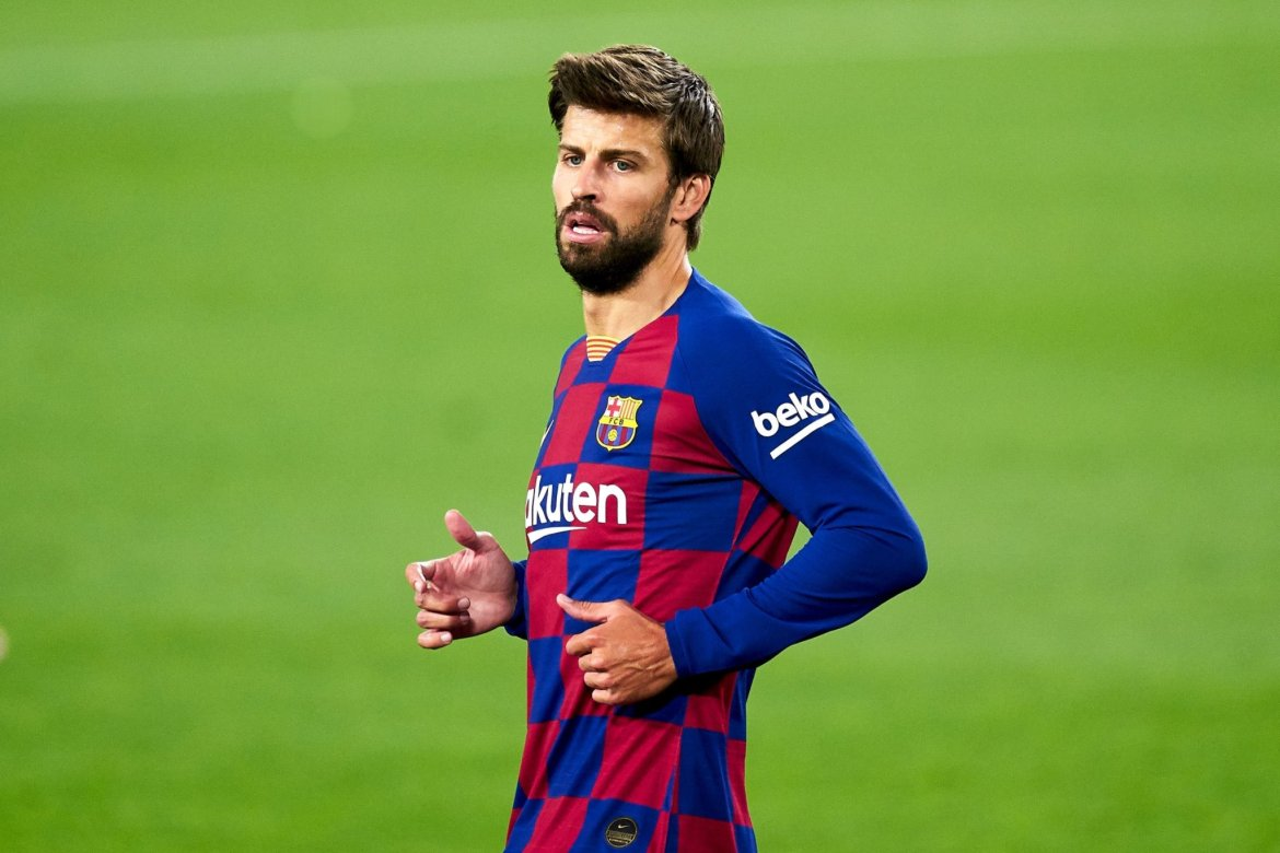 Image result for Defender Gerard Pique is back in the Barcelona squad for Tuesday's Champions League tie against