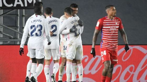 Real Madrid beat Granada