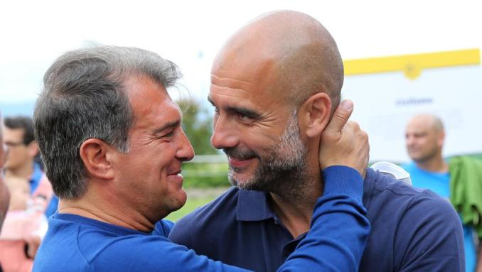 Joan Laporta wants Pep Guardiola as his Barcelona coach - Football Espana