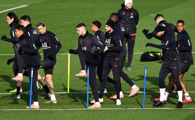 Predicting Psg S Lineup Against Monaco Expect A Strong