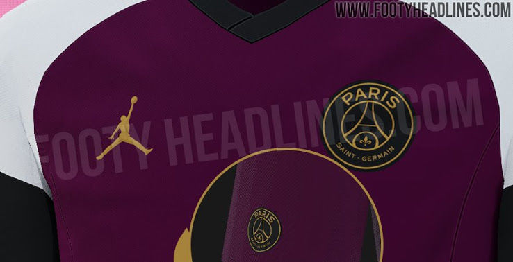the 2020 21 psg x jordan brand away kit