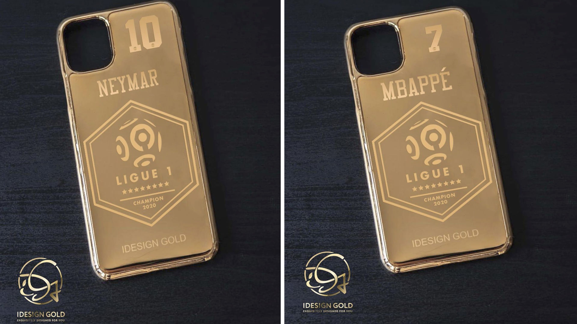 give players gold iphone cases