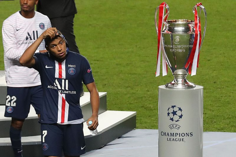 Kylian Mbappé Provides an Update on His Injured Ankle and Reflects on the Champions  League Final Loss - PSG Talk