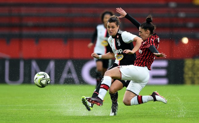 Landmark Occasion On The Calendar For Ac Milan Women They