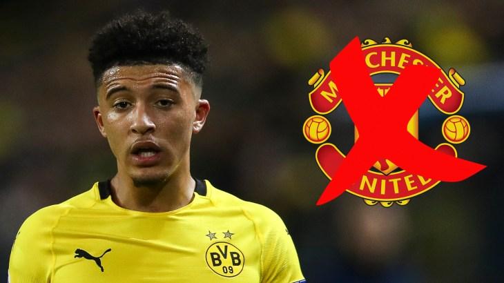Manchester United end hunt for Borussia Dortmund's Jadon Sancho