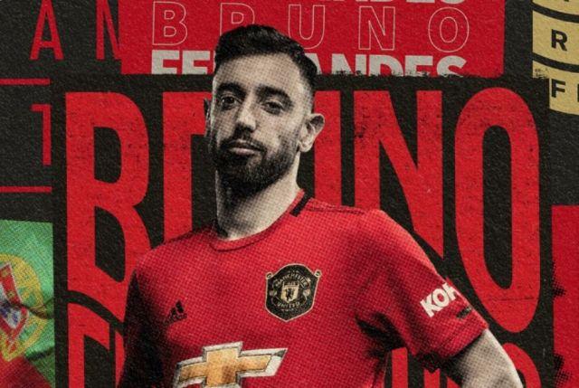 New signing Bruno Fernandes