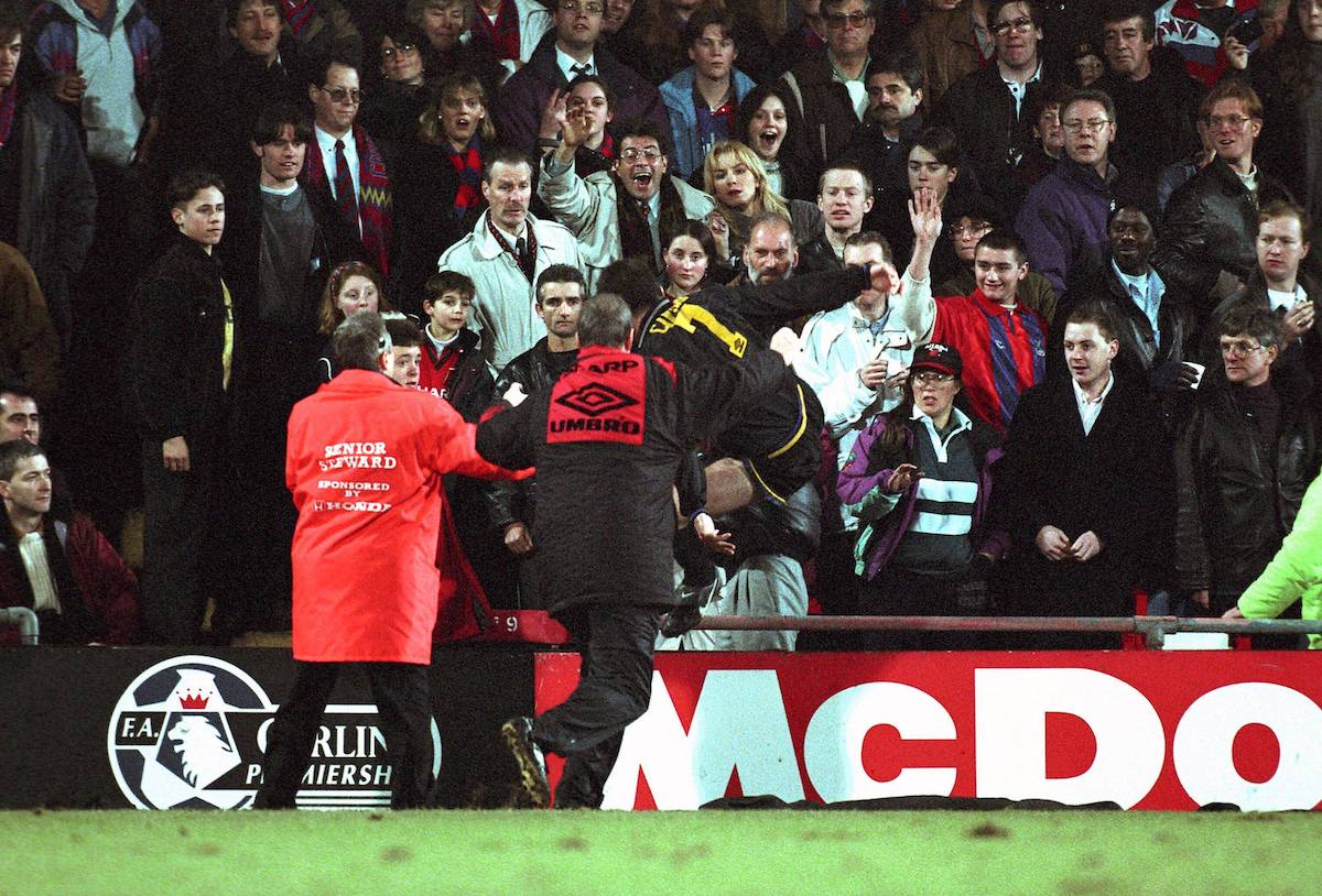 To connect with working class history, join facebook today. Eric Cantona Regrets Not Kicking Palace Fan Harder Despite 9 Month Ban