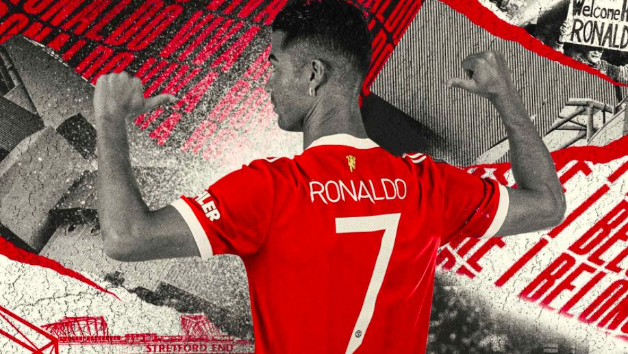 Manchester United confirm Cristiano Ronaldo's shirt number
