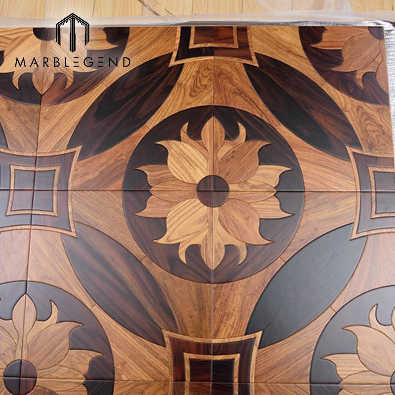 elegant flower design italian wood
