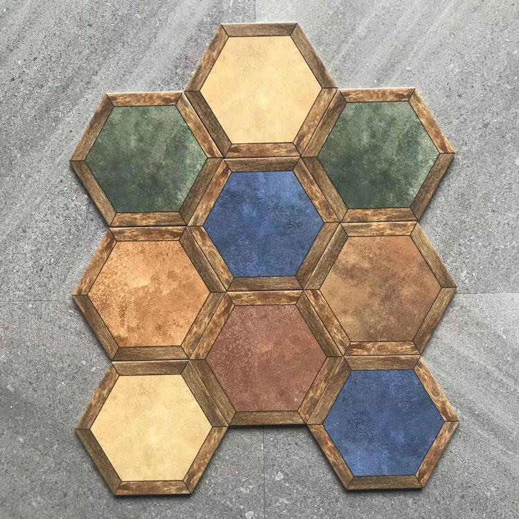 bathroom malaysia decorative hexagon