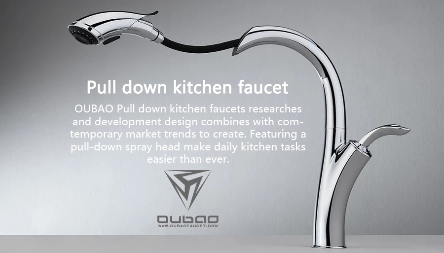 oem odm pull down kitchen faucets