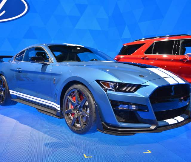 2020 Ford Mustang Shelby Gt500 Debuts At 2019 Detroit Auto Show Digital Trends