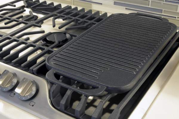 Frigidaire Gas Cooktop with Griddle