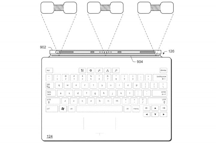 New Patent Lists a Surface Pen Wireless Charging Accessory