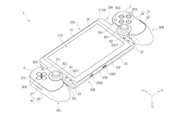 Sony Files Patent For New Handheld That Looks A Lot Like A