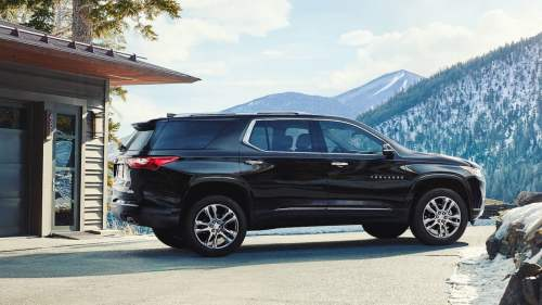 small resolution of all new 2018 chevrolet traverse redesign focuses on spaciousness digital trends