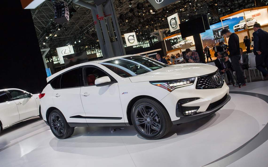 a completely redesigned 2019 acura rdx arrives in new york | digital
