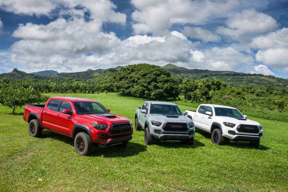 medium resolution of 2018 toyota tacoma release date prices specs performance digital trends